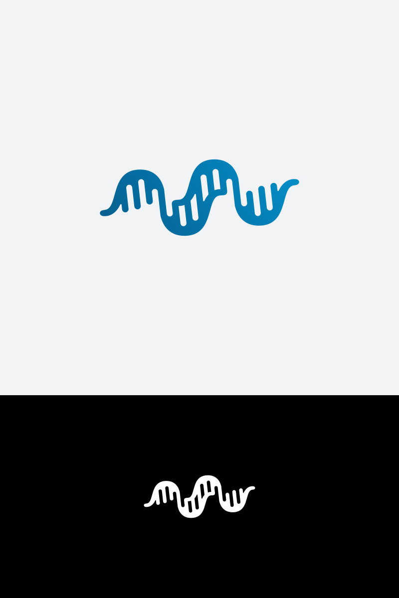 DNA Logo Template #64937