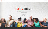 EazyCorp - Multipurpose Web Template with Page Builder and Admin Dashboard
