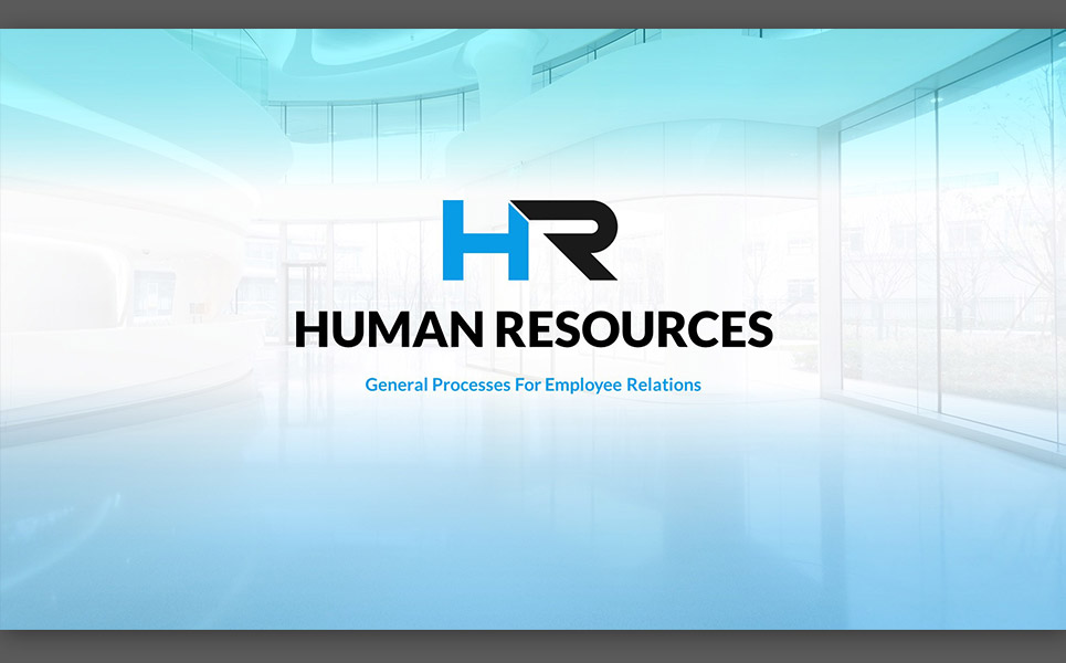 hr process powerpoint template #64735, Powerpoint templates