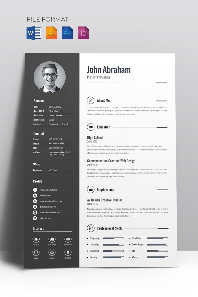 Love Resume Templates