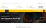 """Davana - Responsive Industrial Business Html"" modèle web adaptatif"