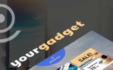 Responsywny szablon PrestaShop YourGadget - Electronics Store #67825