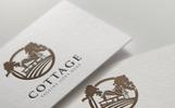 """Modello di Loghi #67832 """"Cottage Village"""""""