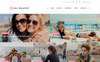 Gal Walking - Woman Travel Blog WordPress Theme New Screenshots BIG