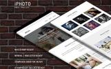 iPhoto - Modèle d'email de newsletter adaptatif