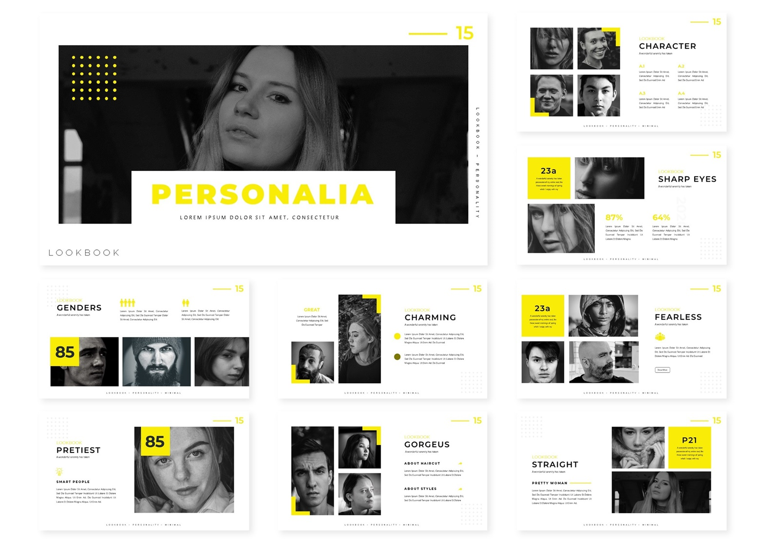 Personalia   PowerPoint Template