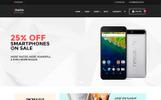 Thème WooCommerce adaptatif  pour site de boutique mobile