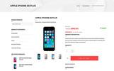 Responsivt WooCommerce-tema för mobiltelefonbutik