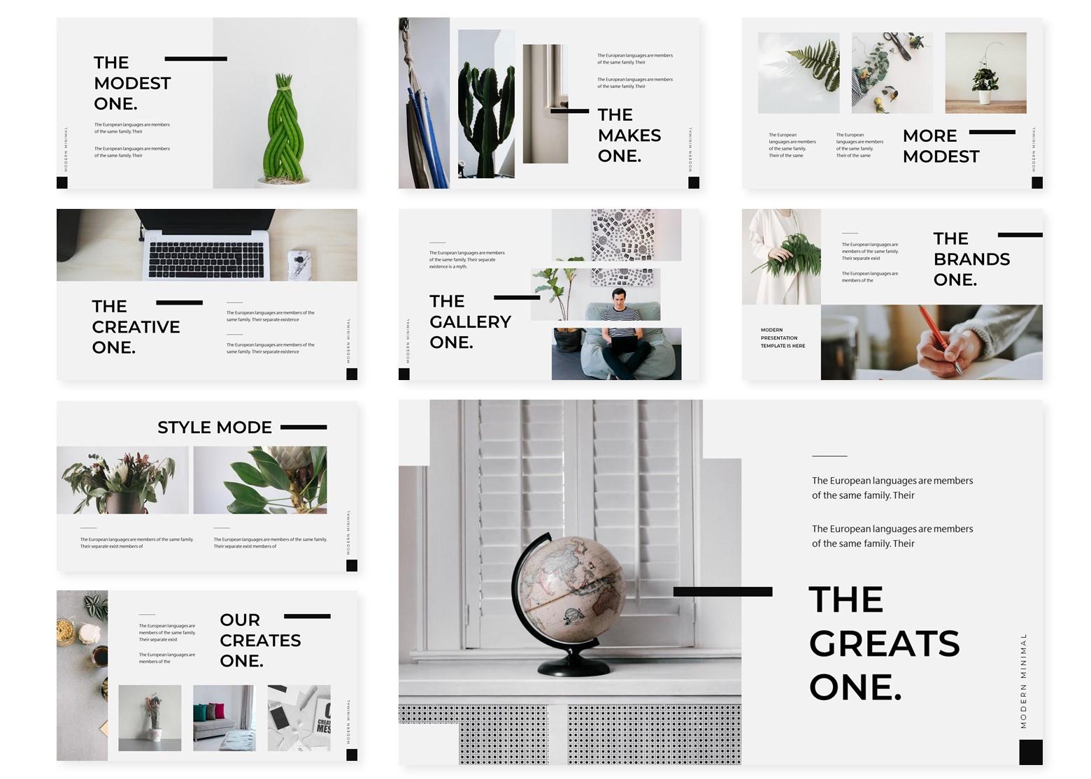 Minima | PowerPoint Template