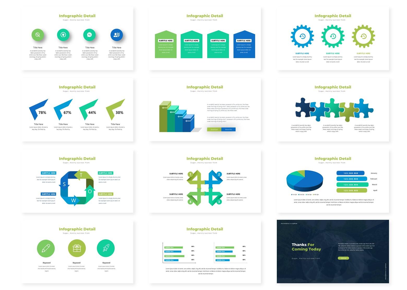 Greanleaf | PowerPoint Template