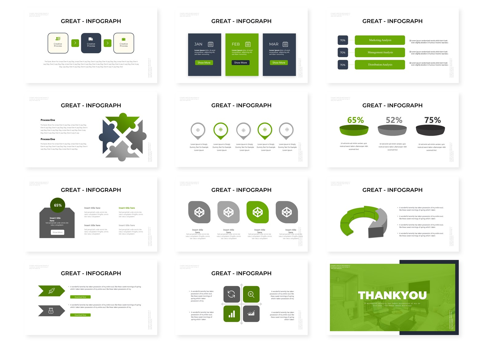 The Living   PowerPoint Template