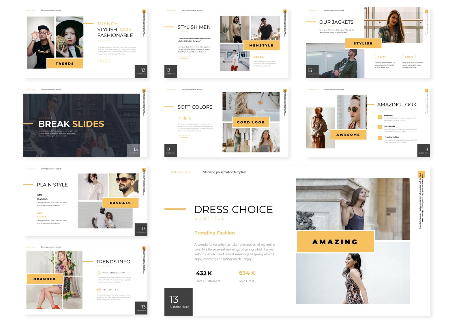 Glamou | PowerPoint Template