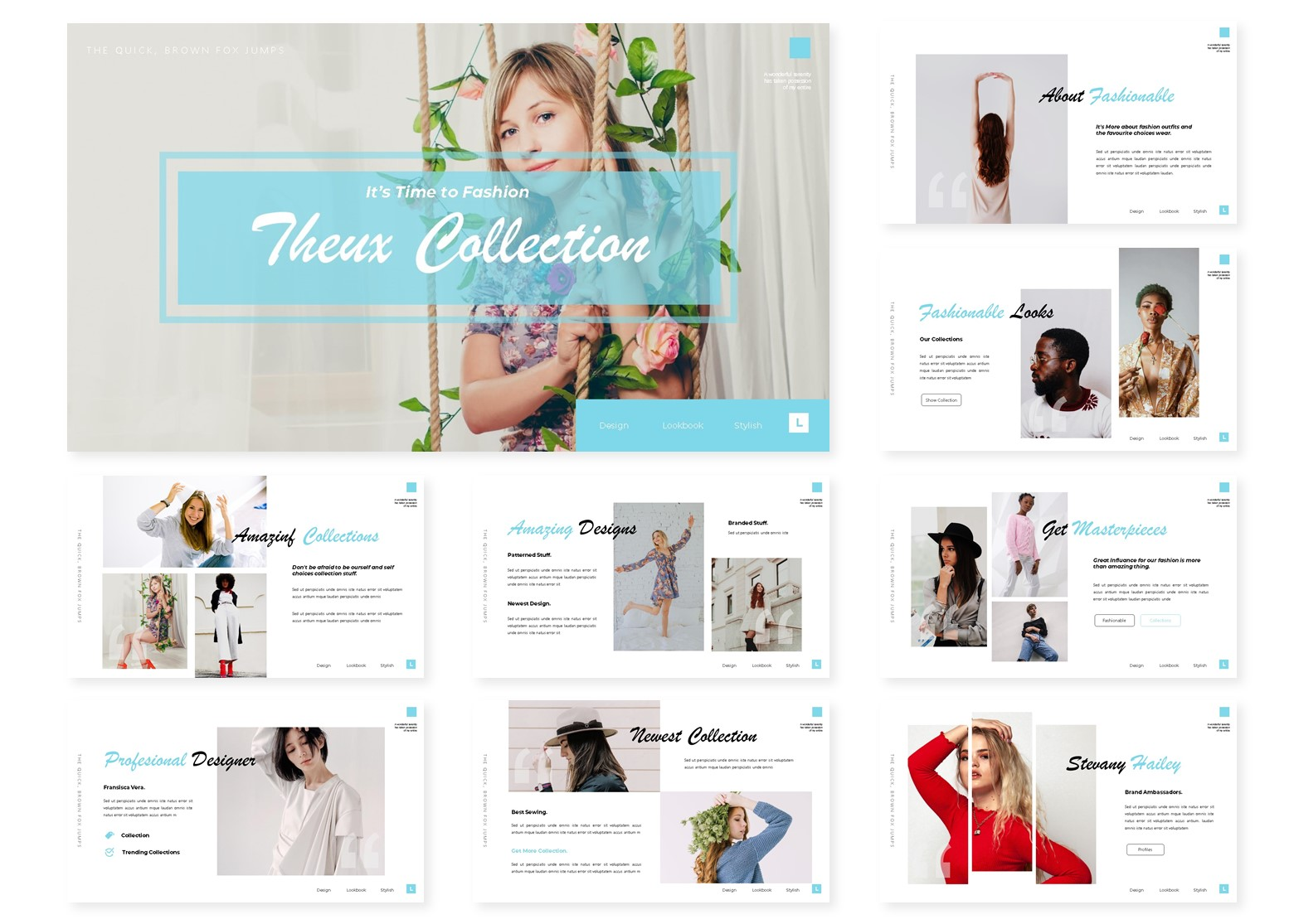 Theux Collection   PowerPoint Template