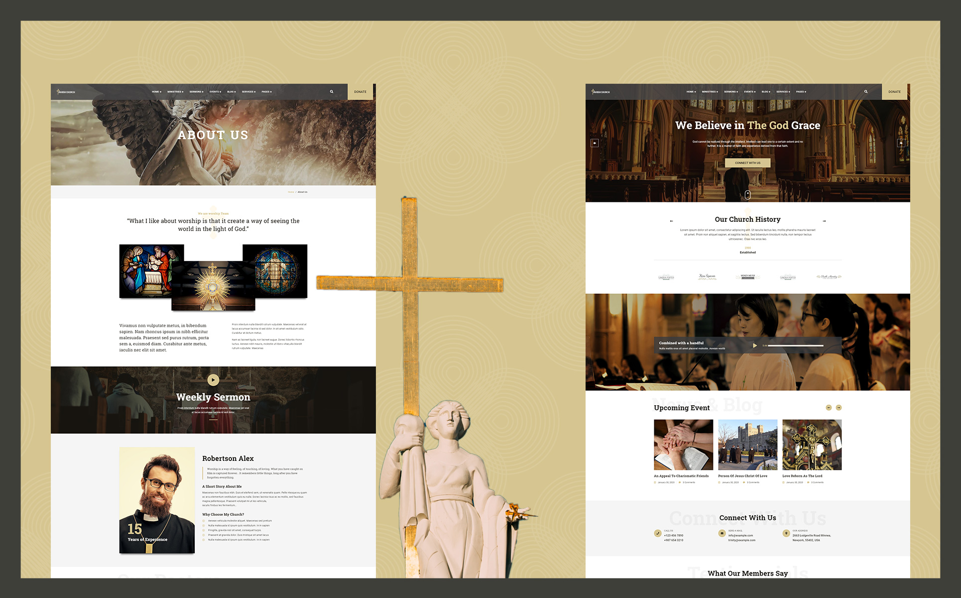 Parish | Church WordPress Theme