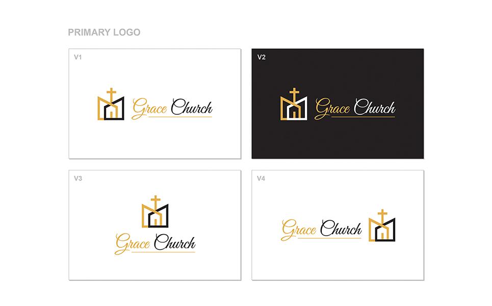 church logo template 64857