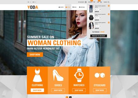 Yoda Clothes - HTML