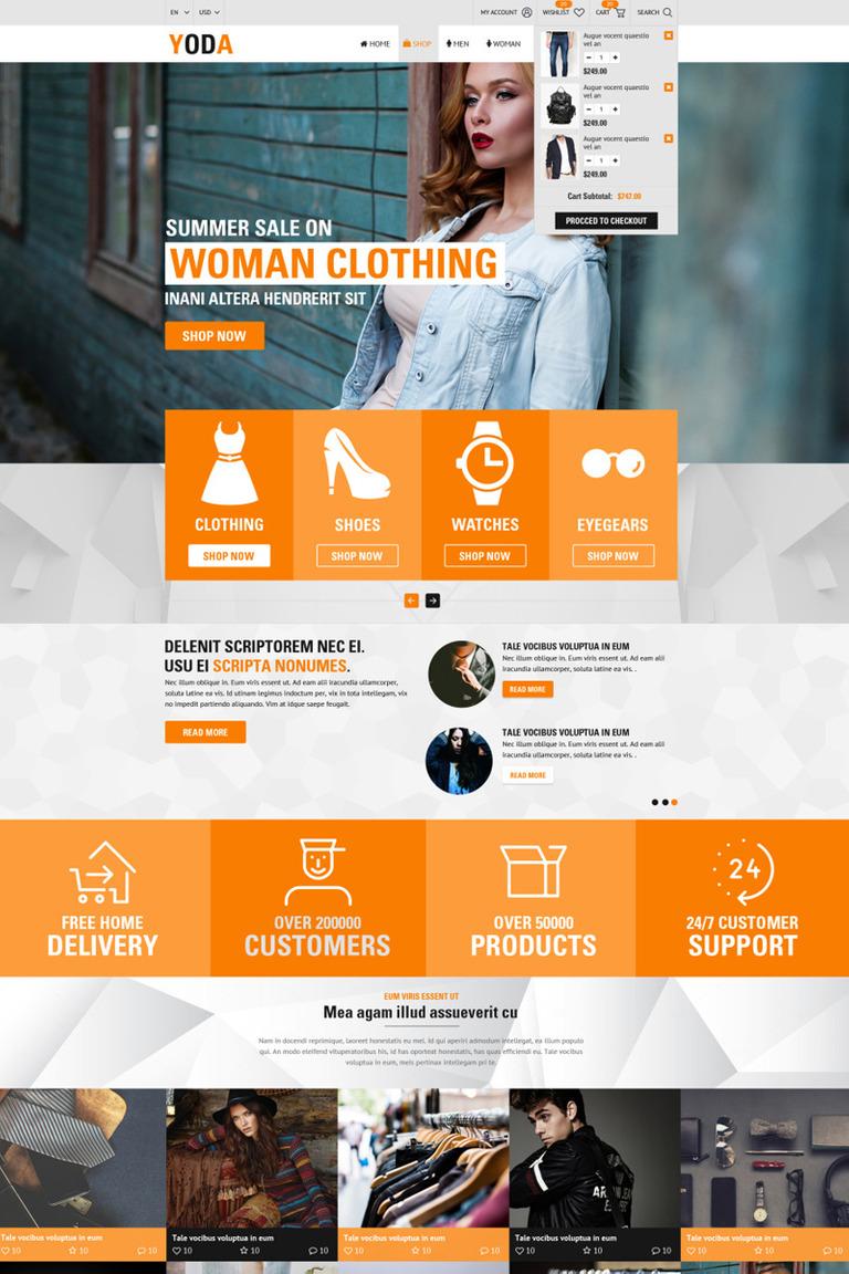 Website Vorlage #68094 für Schönheit