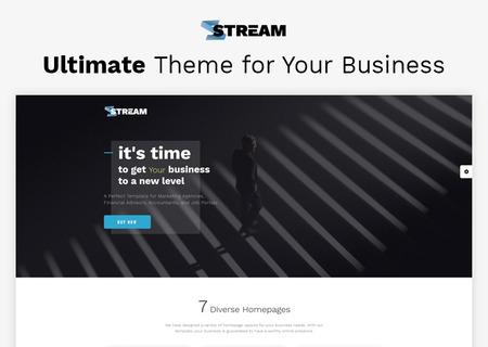 Dynamic Financial Advisor Multipage HTML