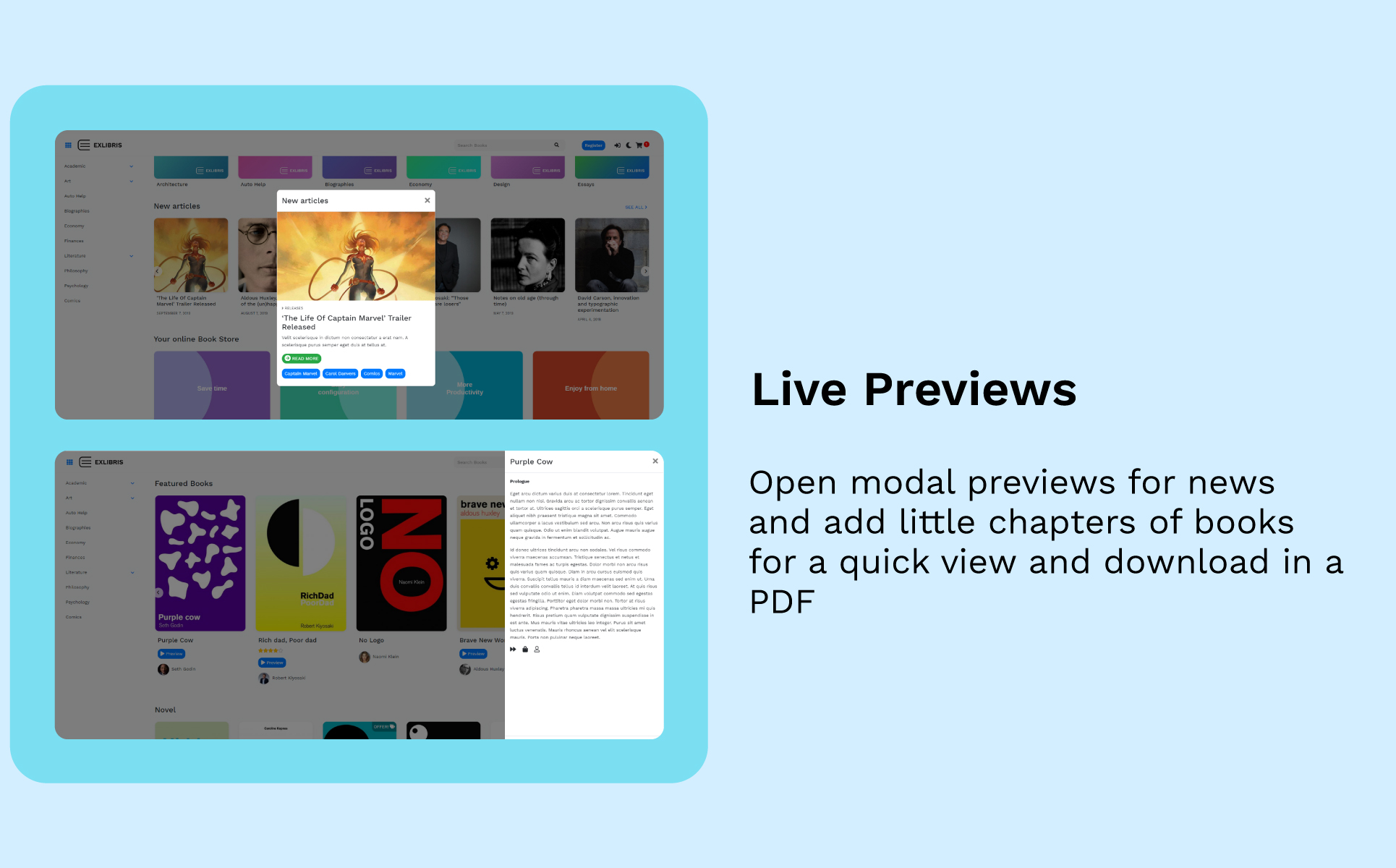 EXLIBRIS - Book Store WooCommerce Theme