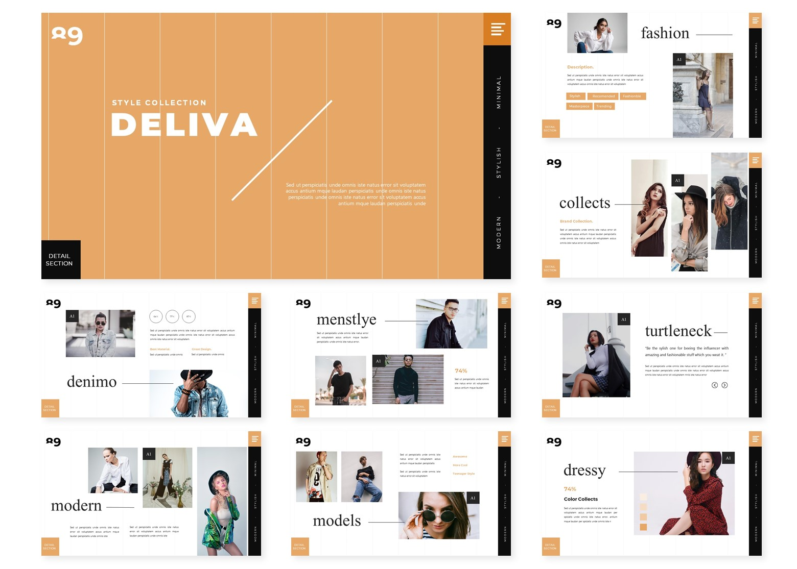 Deliva   PowerPoint Template