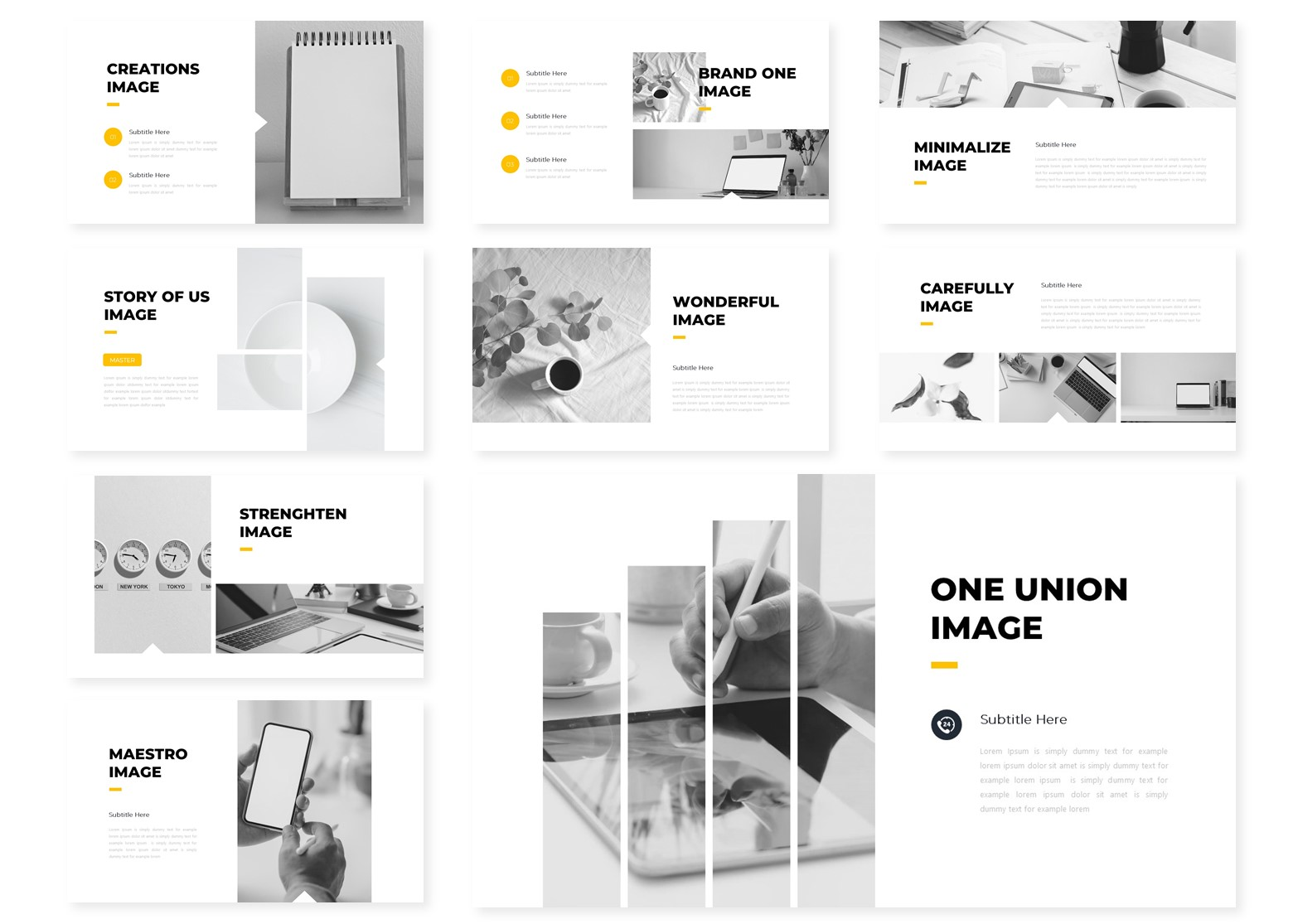 Imagninate | PowerPoint Template