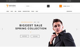 WooCommerce шаблон №65450 на тему магазин обуви