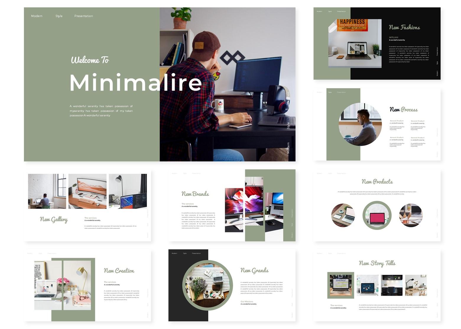 Minimalire | PowerPoint Template