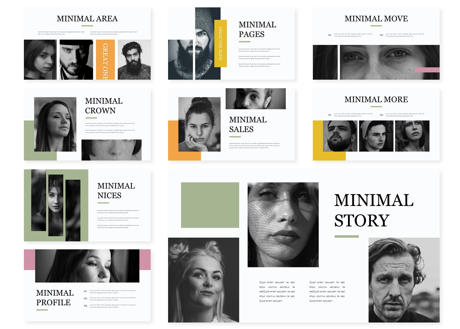 The Minimal | PowerPoint Template