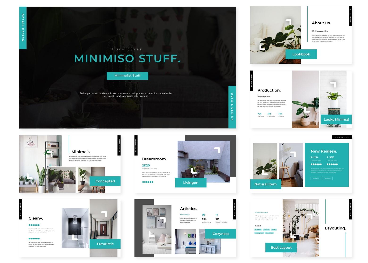 Minimiso | PowerPoint Template