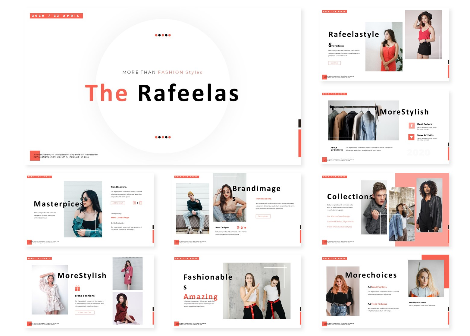 The Rafeelas | PowerPoint Template