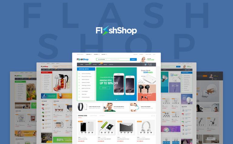 Flashshop - Multipurpose Premium WooCommerce Theme Big Screenshot