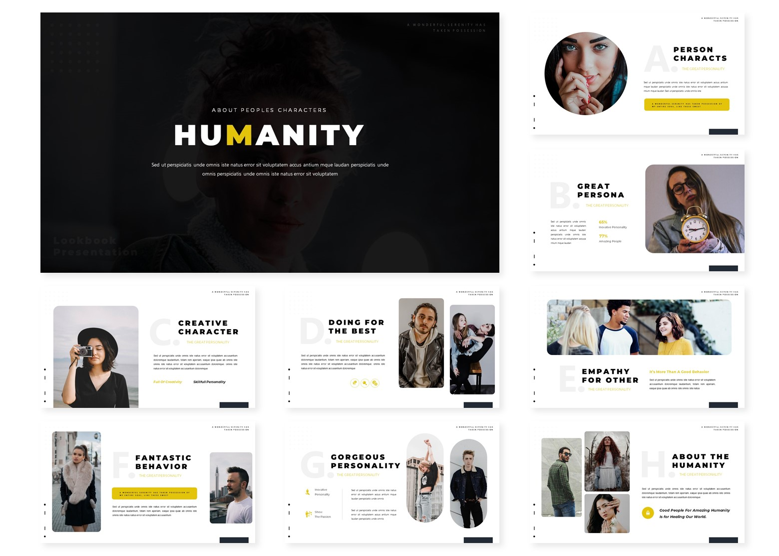 Humanity | PowerPoint Template
