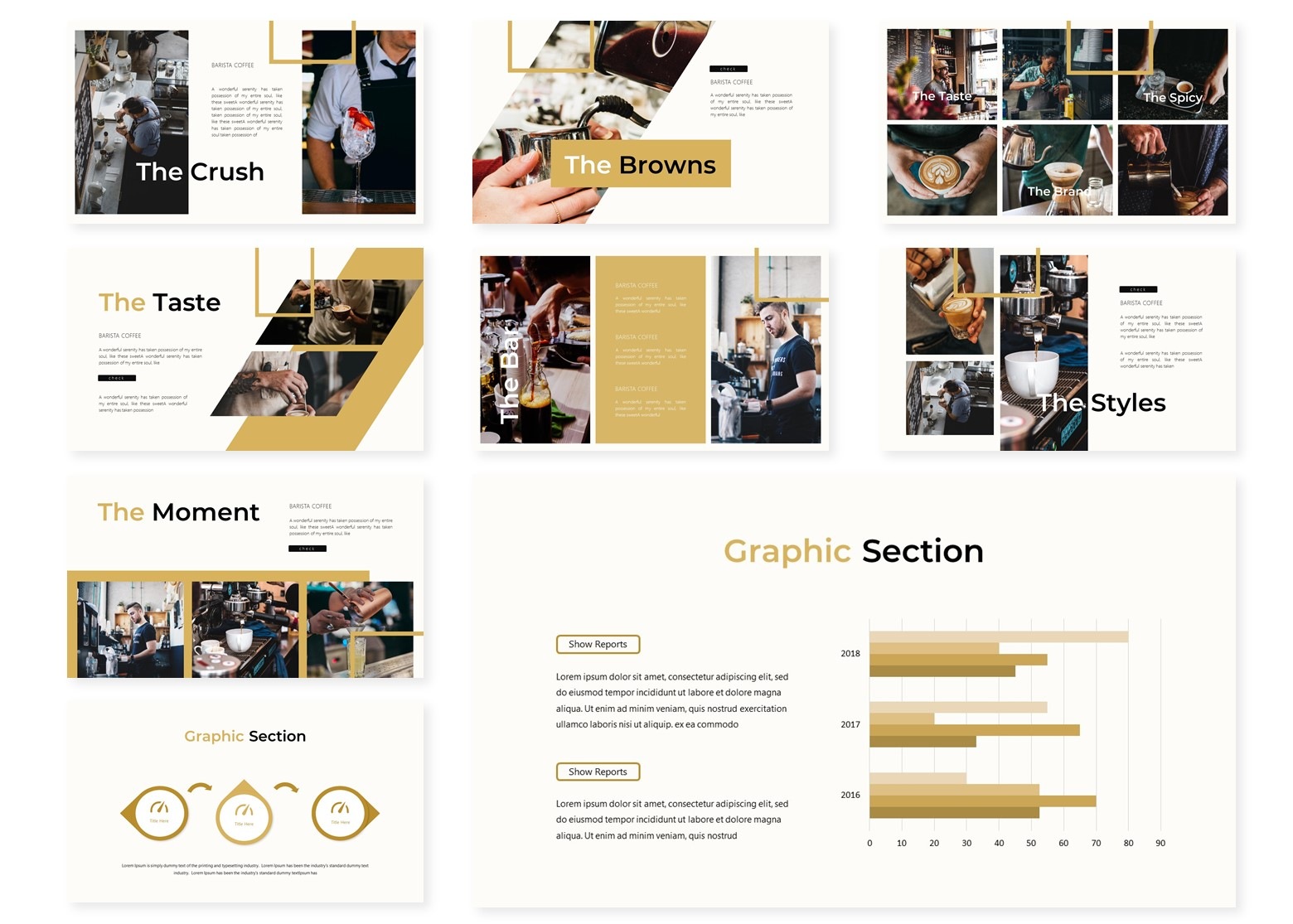 Barista | PowerPoint Template