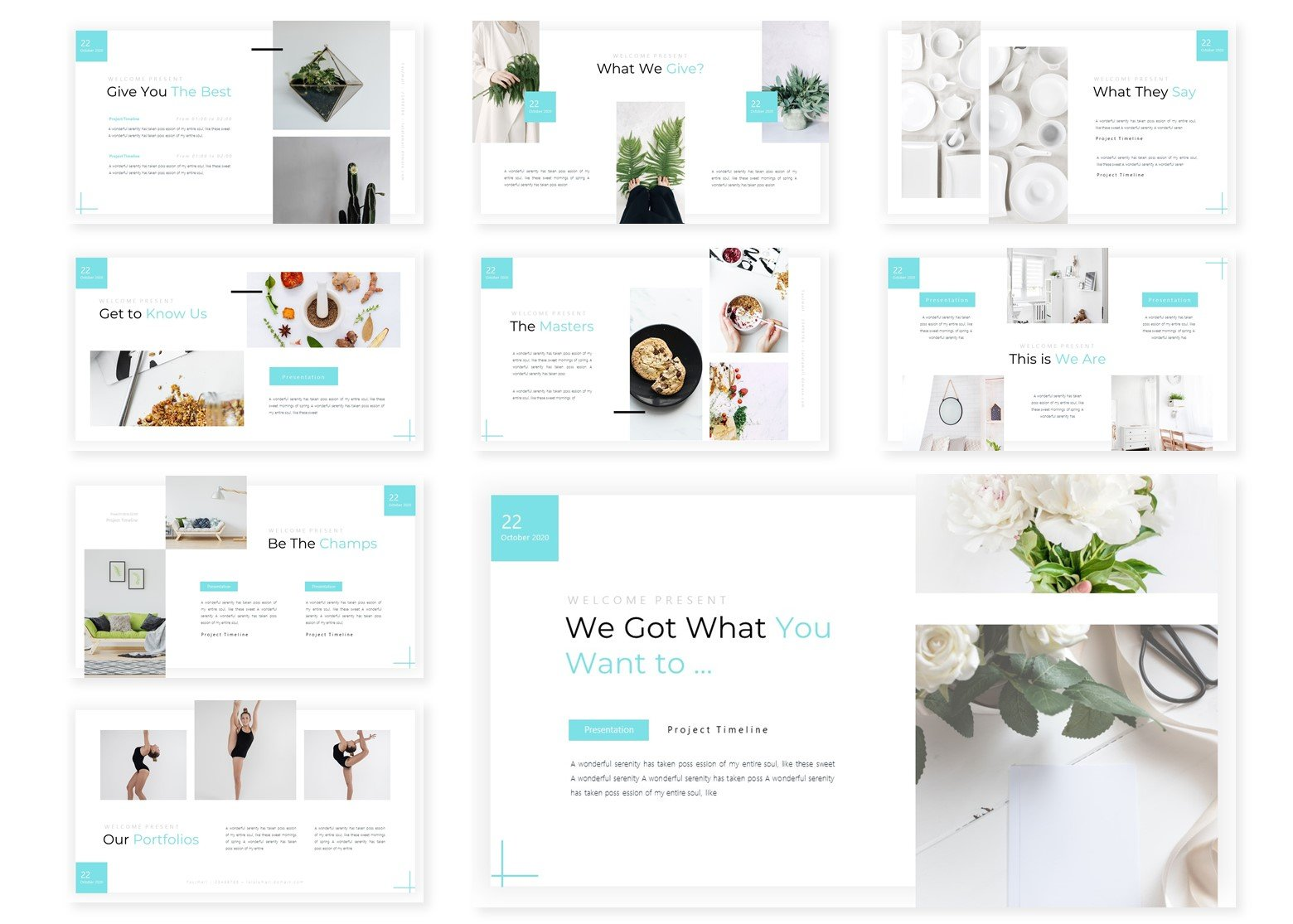 Cleansoura | PowerPoint Template