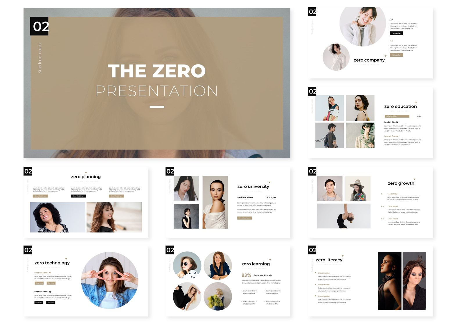 The Zero | PowerPoint Template