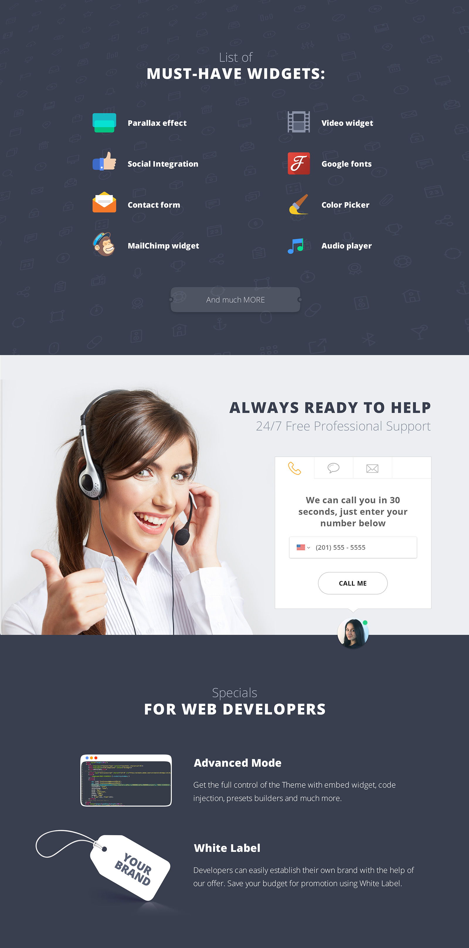 Startup Companies & Accelerators Landing Page Template