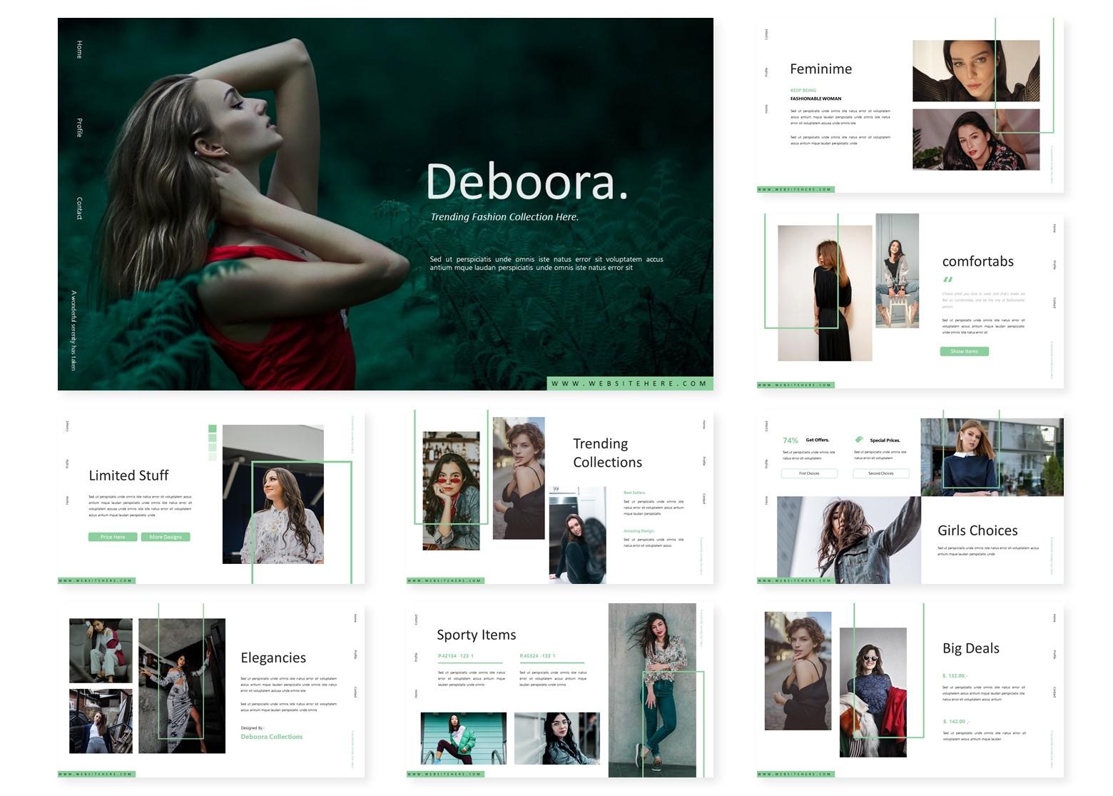 Deboora | PowerPoint Template