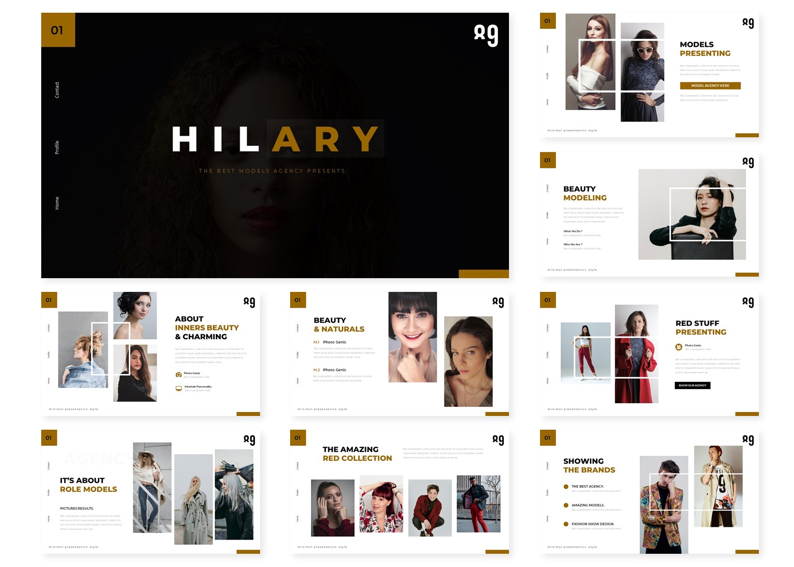 Hilary | PowerPoint Template
