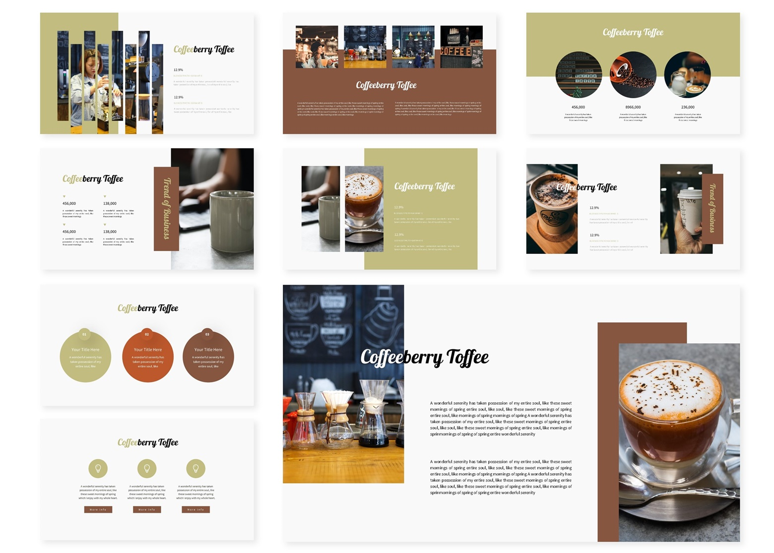 Coffeberry   PowerPoint Template