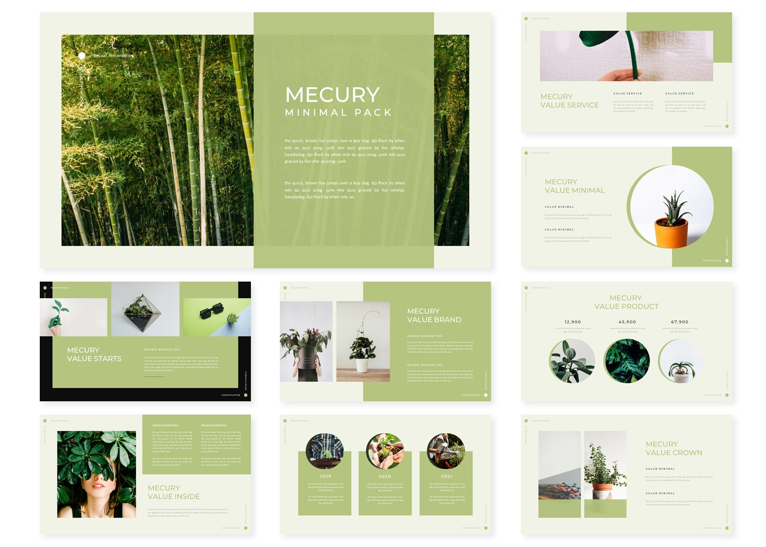 Mercury | PowerPoint Template