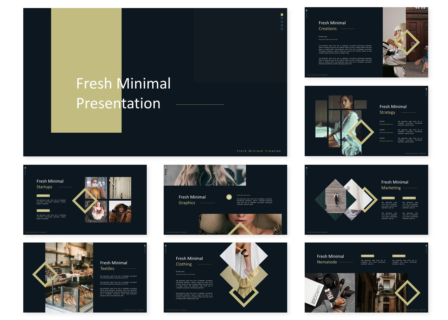 Fresh Minimal | PowerPoint Template