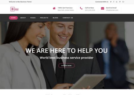 Bizz - Business & Corporate HTML