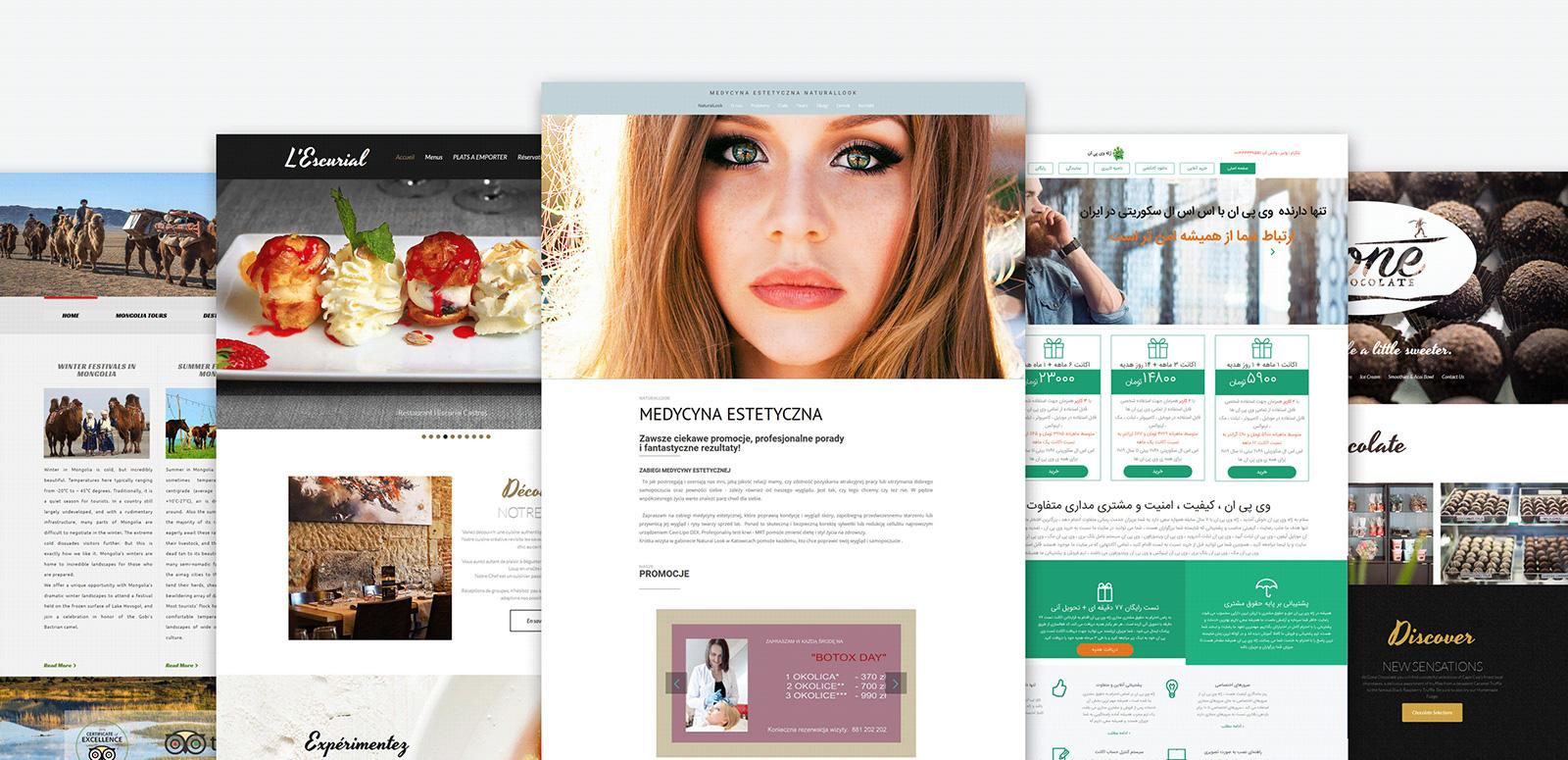 Glosstyle - Beauty Salon Moto CMS 3 Template