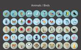 Plantilla de Conjunto de Iconos para Sitio de Gráficos