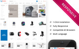 "PrestaShop Theme namens ""Cartista Mega Store"""