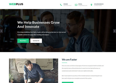 plus - Business & Corporate HTML