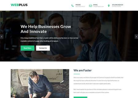 plus - Business & Corporate HTML