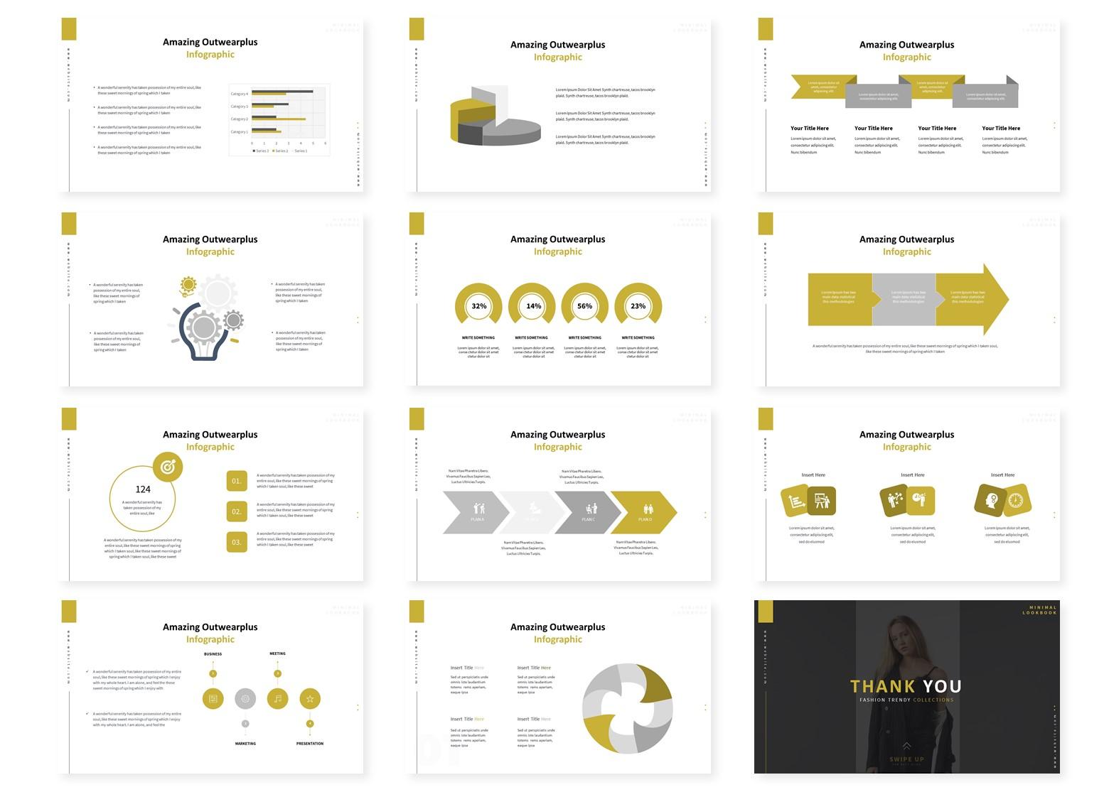 Outwearplus   PowerPoint Template