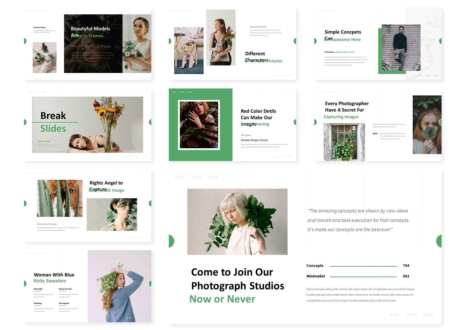 Plantstrait | PowerPoint Template
