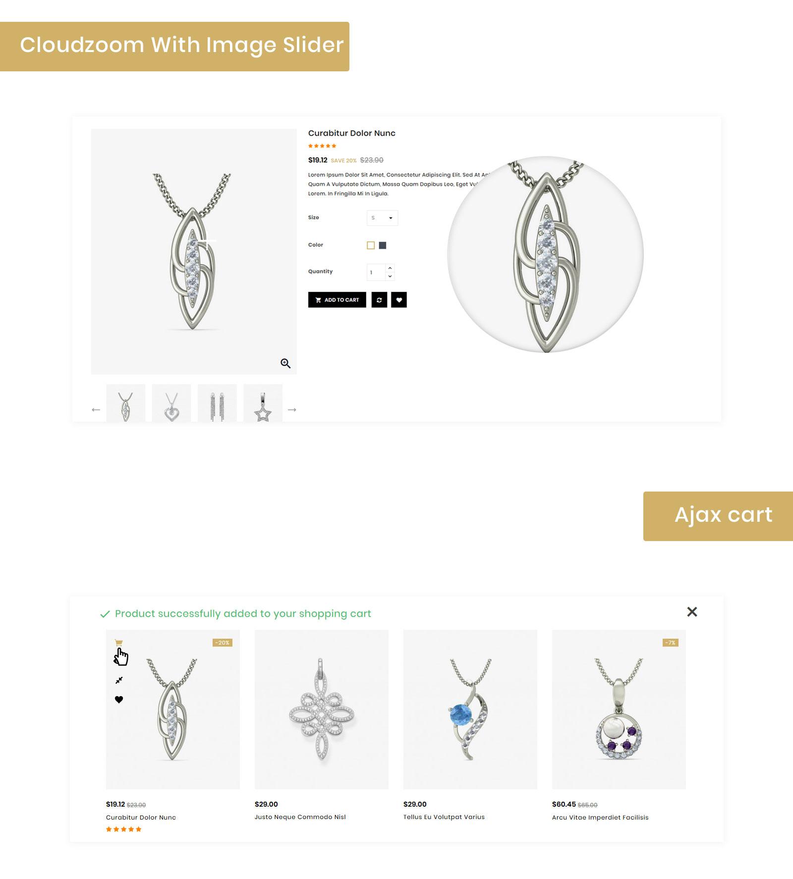 Stones - Jewelry Store PrestaShop Theme